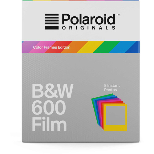 Polaroid Originals Black & White 600 Instant Film (Color Frames ...