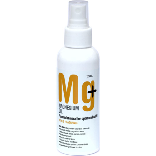 Magnesium Oil - Citrus 125ml