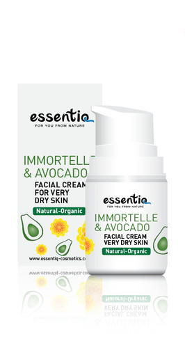 Facial Cream for Extra Dry Skin Imortelle & Avocado 50ml