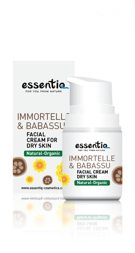Facial Cream For Dry Skin Imortelle & Babassu 50ml
