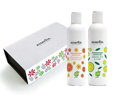 Body Care Gift Set- Green Tea + Calendula