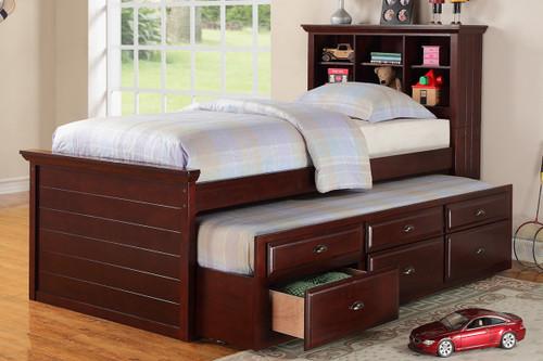 The Jordan storage trundle bed
