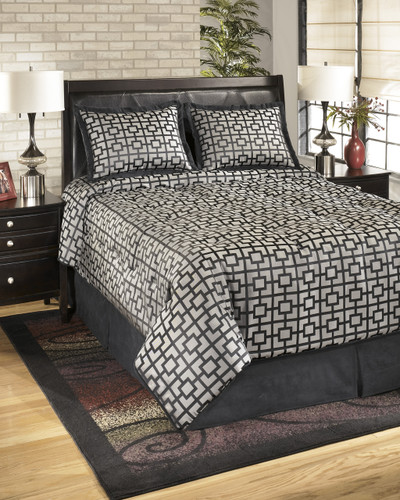 The Maze - Onyx Bedding Set