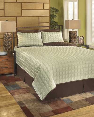 The Gridlock - Thistle Bedding Set