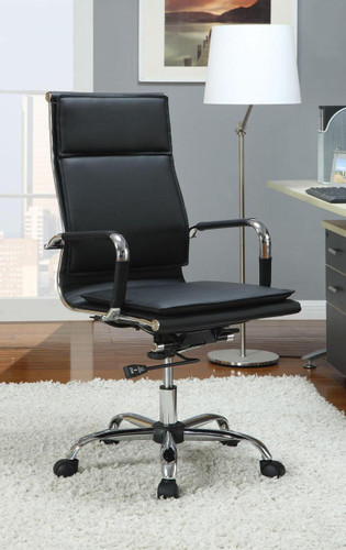 Office Chair in Black with Gas Lift