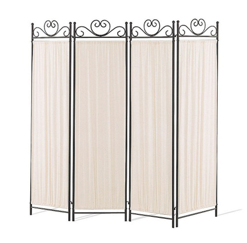 Port Angeles Four Panel Butterfly Decor Screen