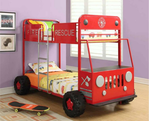 The Fire Rescue Bunk Bed