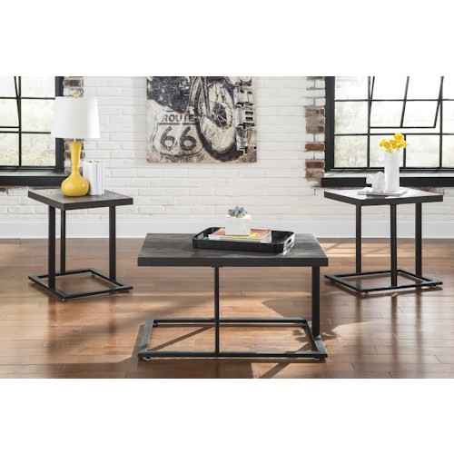 Ashley Furniture In Miami: The Hugo 3pc Occasional Table Set