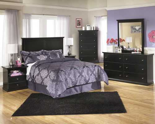 The 9pc Maribel Bedroom Collection Package