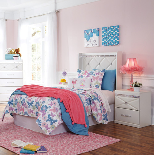The 3pc Dreamur Youth Bedroom Collection