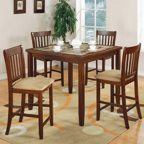 The Poca Counter Height Dining Room Collection