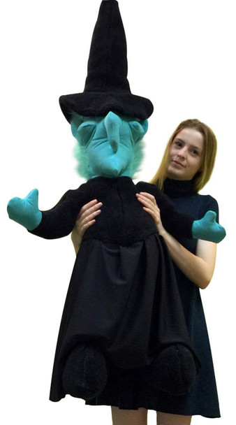 American Made Giant Stuffed Wicked Witch 48 Inches Tall Halloween Big Plush Made in the USA America