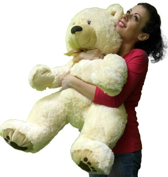 Big Soft Teddy Bear 36 Inches Soft White Teddybear