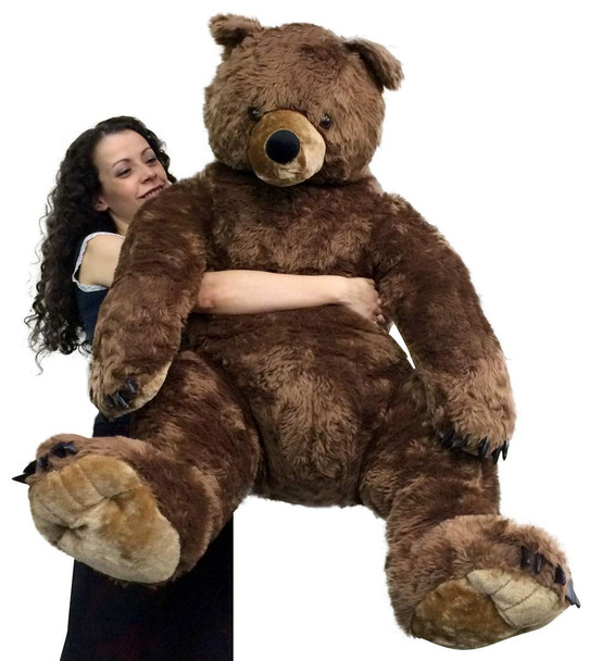 Giant  Brown Teddy Bear Luxurious Soft Plush Animal Huge 3 Feet Tall, 3 Feet Wide