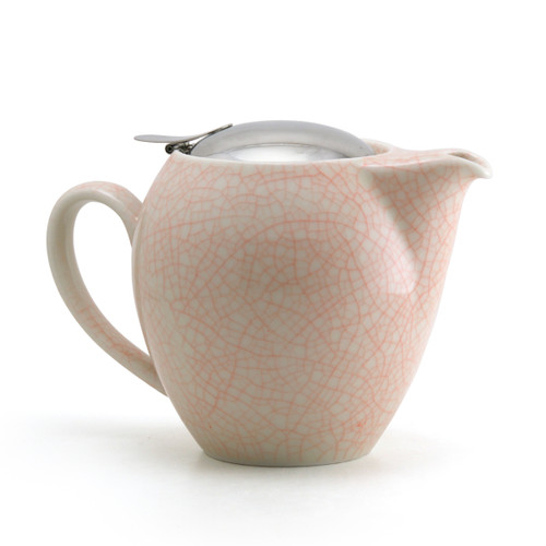 Orange Artisan Crackle Universal Teapot 580ml