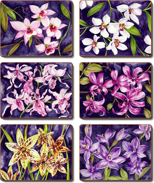 Orchid Garden Placemats