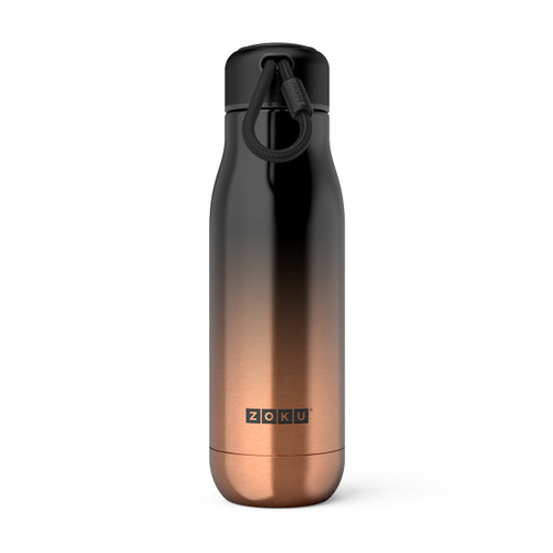 Stainless Steel Bottle Gold Ombre 500ml