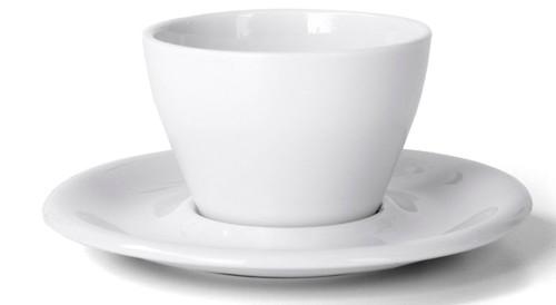 Meno Cappuccino Double 6 oz Cup & Saucer