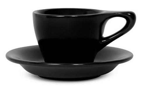 Lino Black Espresso 3oz Cup & Saucer