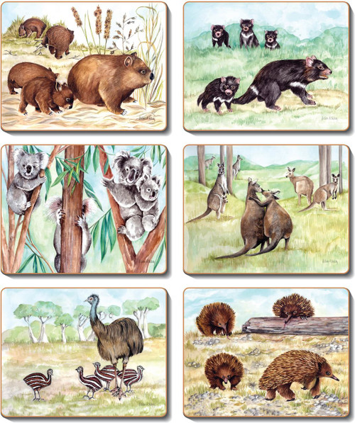 Animal Families Placemats