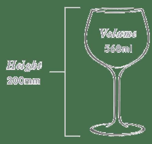 Plumm Vintage Crystal WHITEb Wine Glass (Twin Pack)