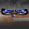 Yamaha Blue with thick full cover Rydcrew Graphics