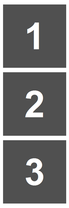 Simple Squares - Print Template