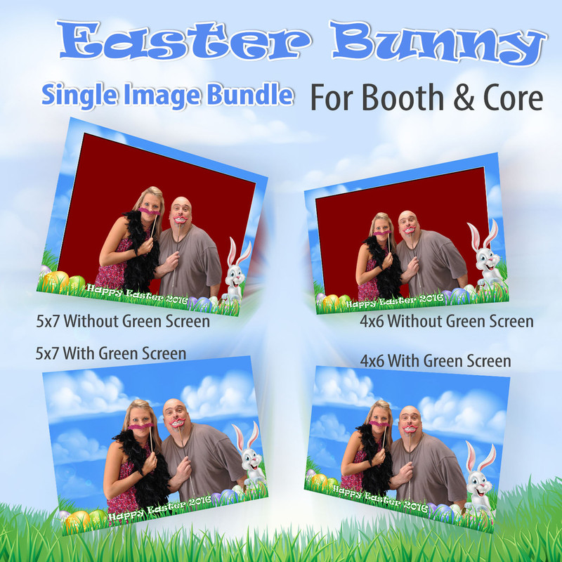 Easter Bunny Single Image Bundle For Booth and Core