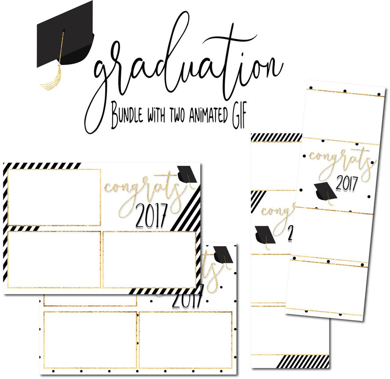 Graduation Bundle with Animated GIF
