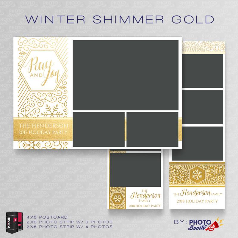 Winter Shimmer Gold Bundle - CI Creative