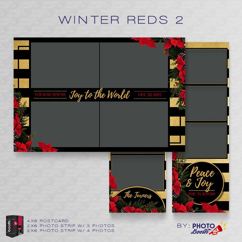 Winter Reds 2 Bundle - CI Creative