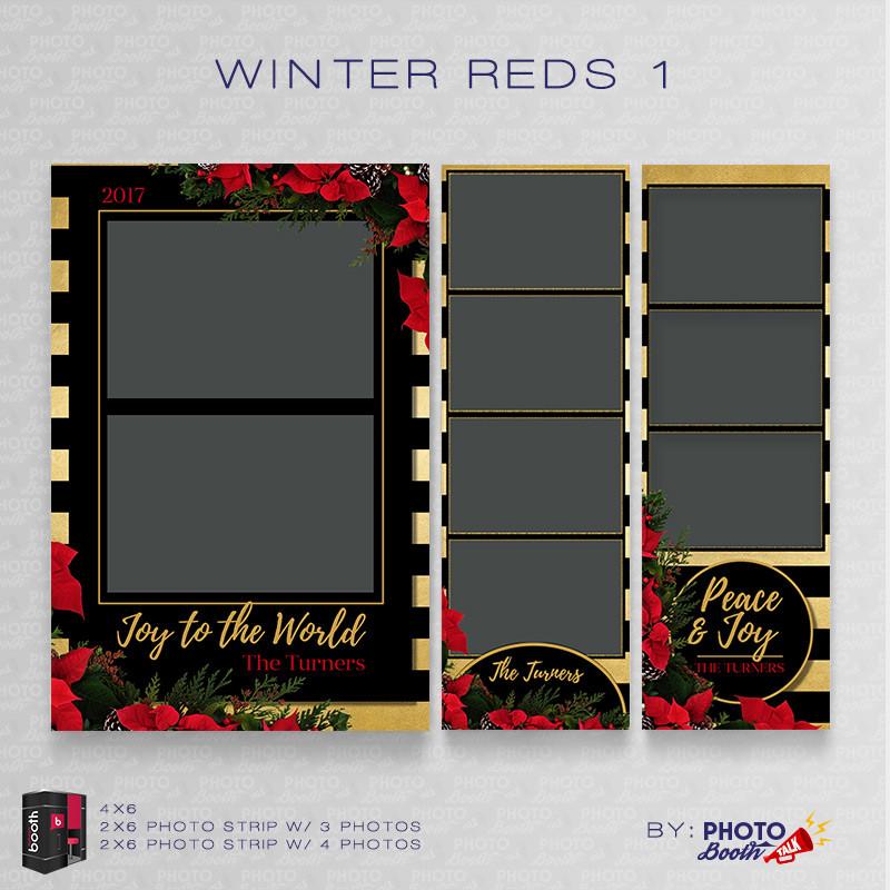 Winter Reds  Bundle - CI Creative