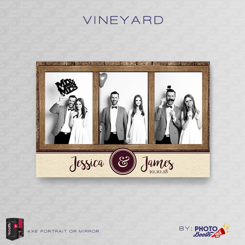 Vineyard Portrait Mirror - CI Creative