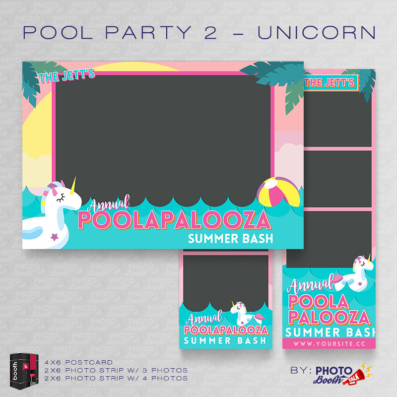 Pool Party 2 Unicorn Bundle - CI Creative