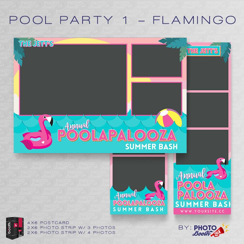 Pool Party 1 Flamingo Bundle - CI Creative