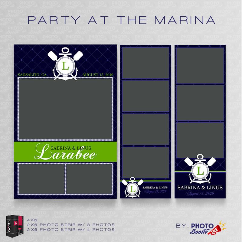 Party at the Marina Bundle - CI Creative