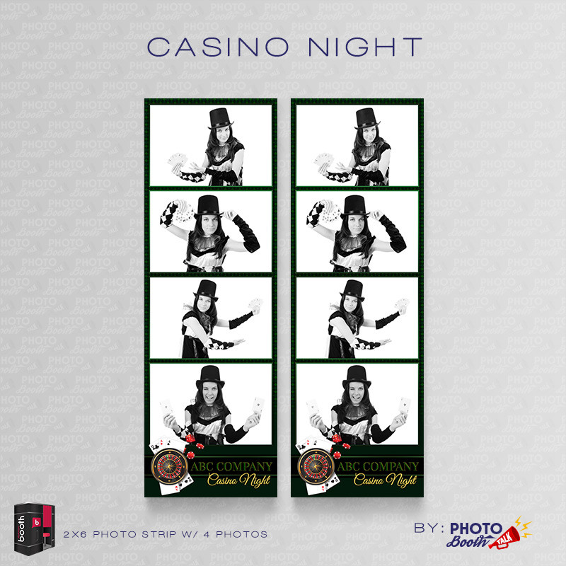 Casino Night 2x6 4Images - CI Creative