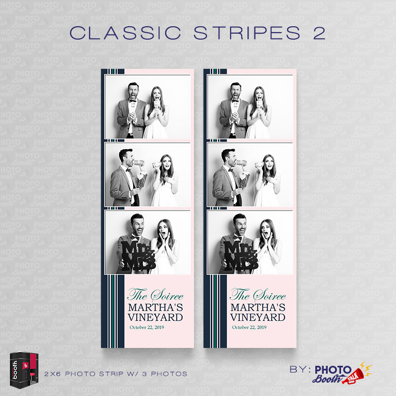 Classic Stripes 2 2x6 4Images - CI Creative