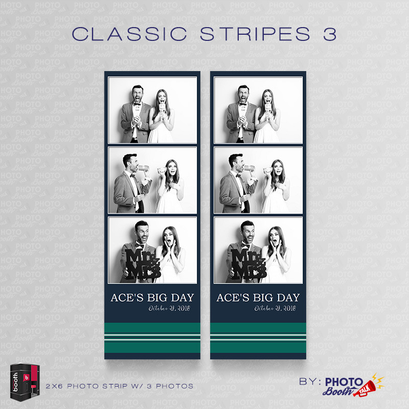 Classic Stripes 3 2x6 4Images - CI Creative