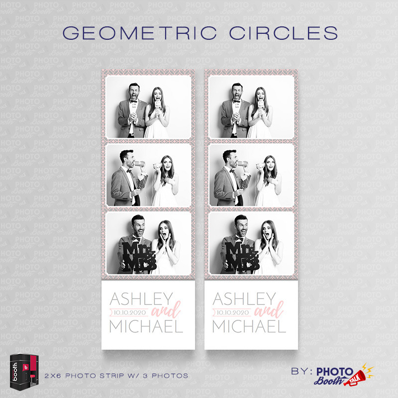 Geometric Circles 2x6 3Images - CI Creative