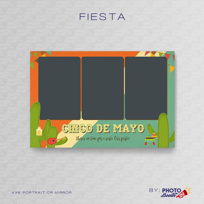 Fiesta 4x6 Portrait Mirror - CI Creative