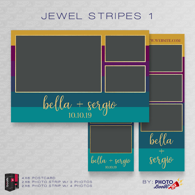 Jewel Stripes 1 Bundle - CI Creative