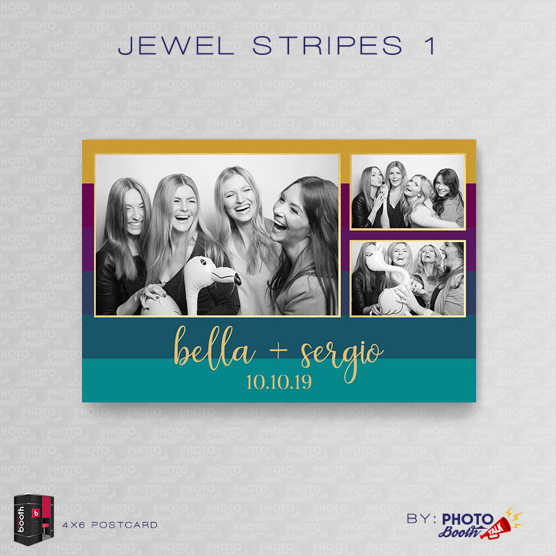 Jewel Stripes 1 4x6 - CI Creative