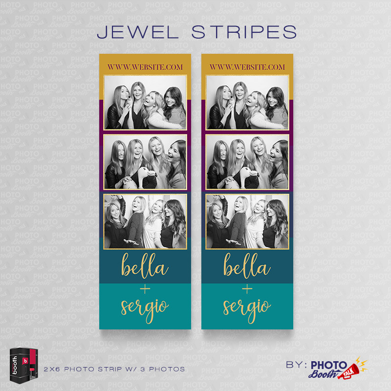 Jewel Stripes 2x6 3 Images - CI Creative