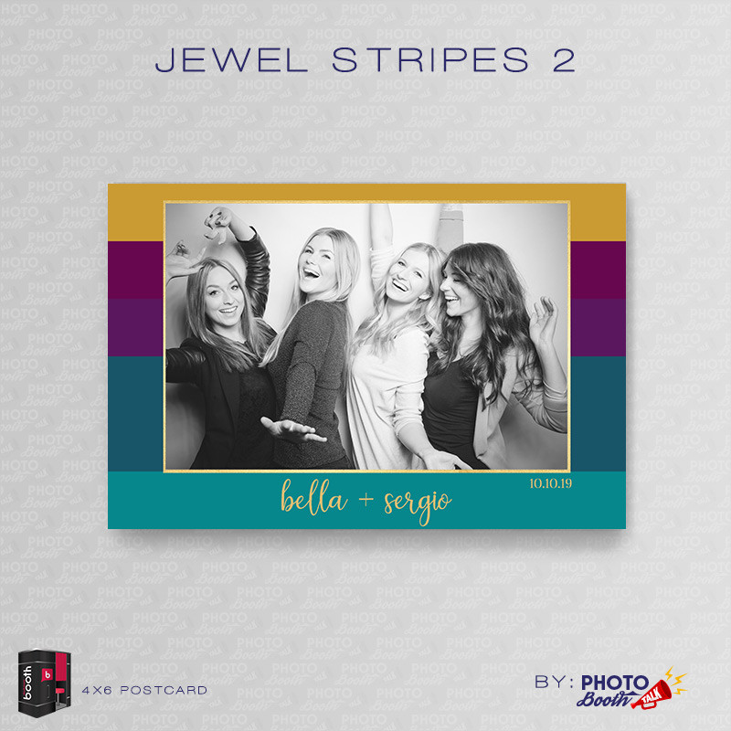 Jewel Stripes 2 4x6 - CI Creative