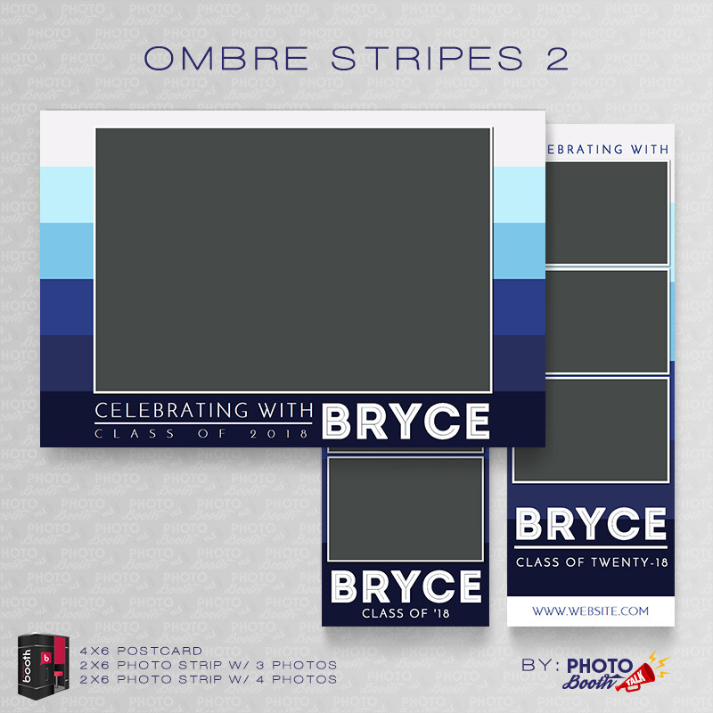 Ombre Stripes 2 Bundle - CI Creative