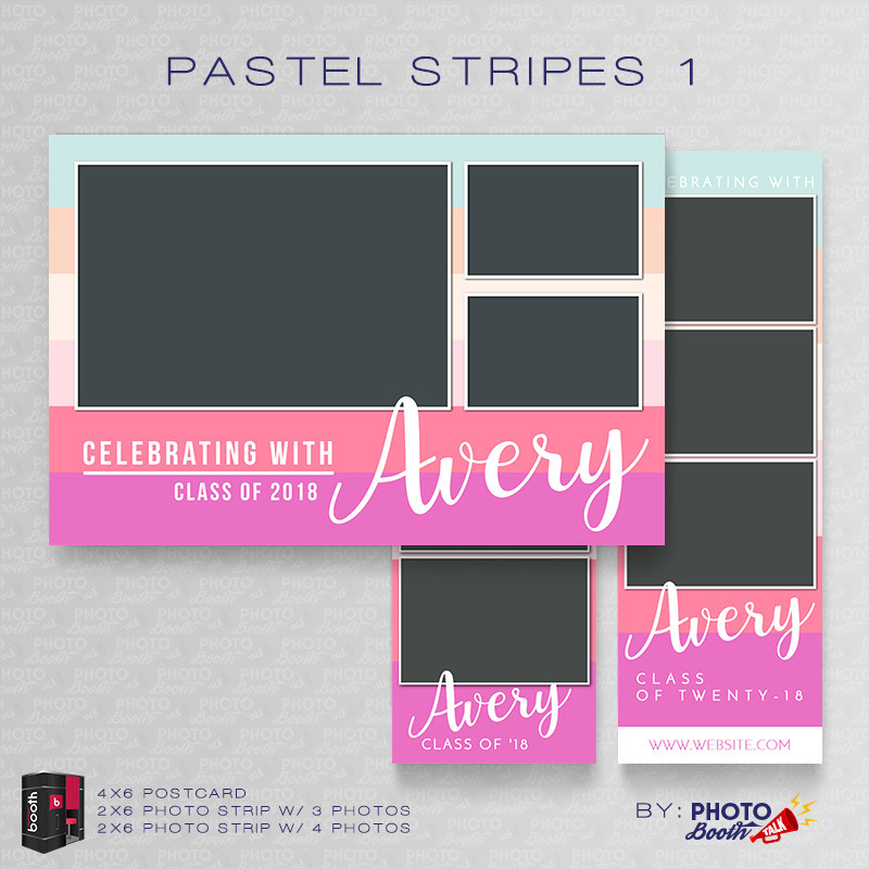Pastel Stripes 1 Bundle - CI Creative