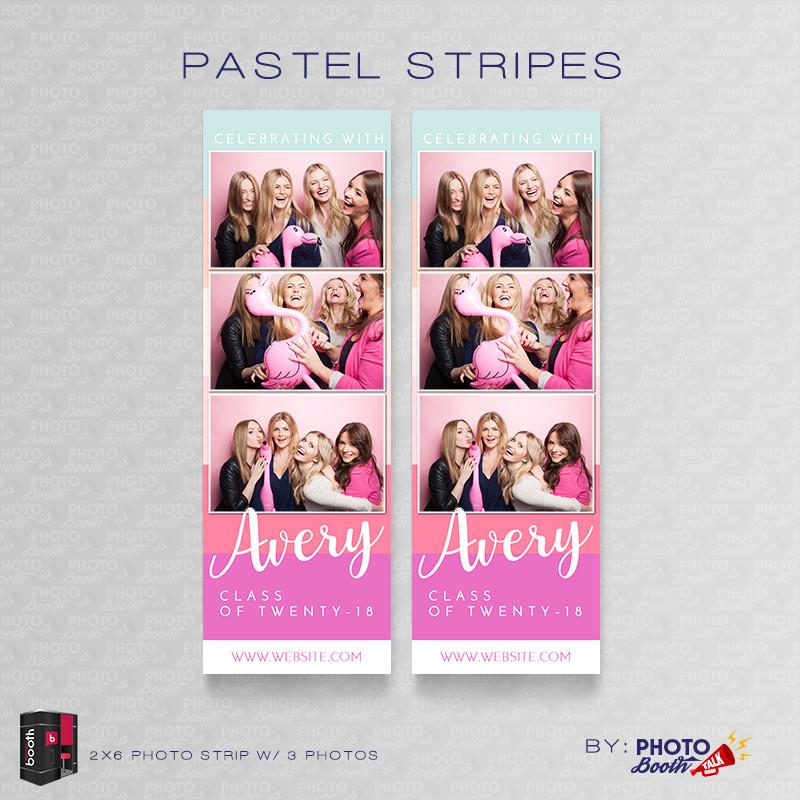 Pastel Stripes 2x6 3 Images - CI Creative