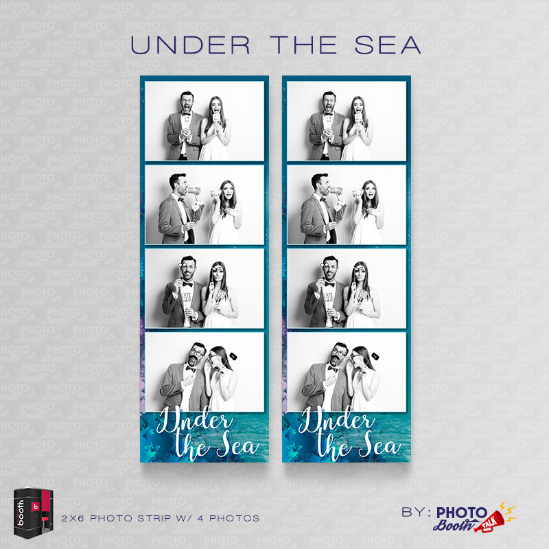 Under the Sea 2x6 4 Images - CI Creative