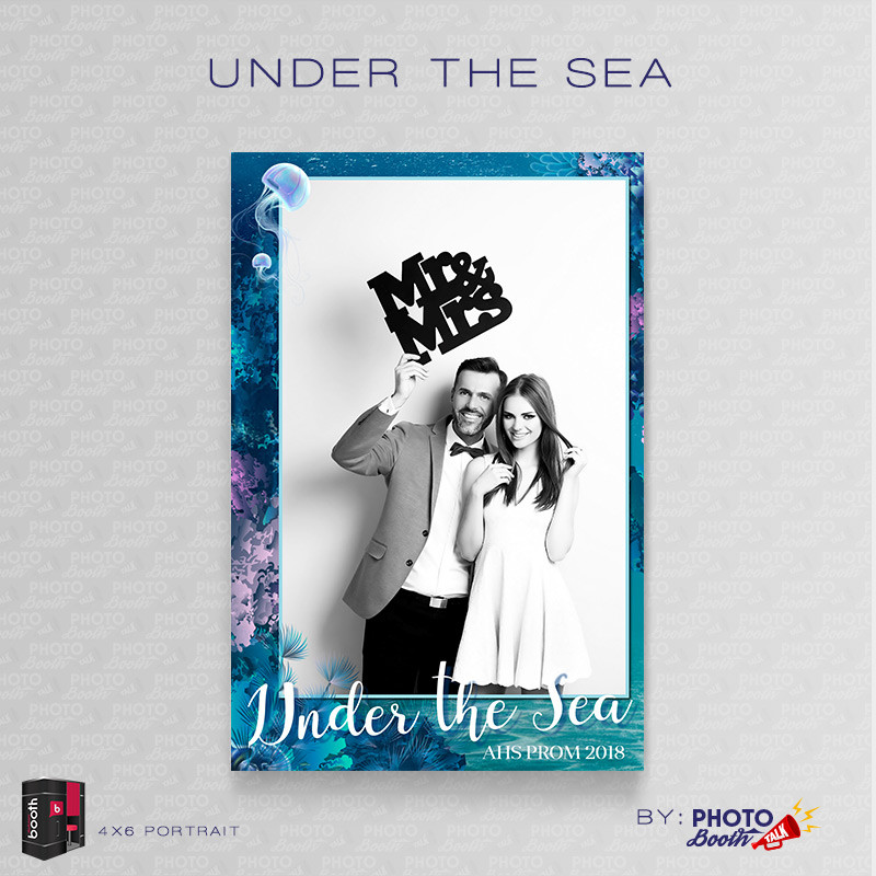 Under the Sea Portrait Mirror Single - CI Creative